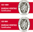 Holders of ISO9001 and ISO14001 certificates